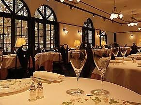 Ma'am - Sir, you table awaits; fine dining in Hakuba, of course.
