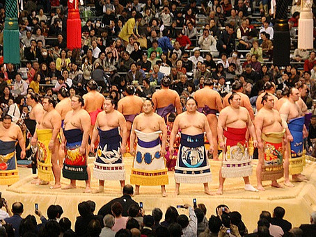 You have to see Sumo while in Tokyo