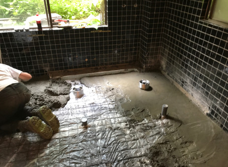 Renovations under way
