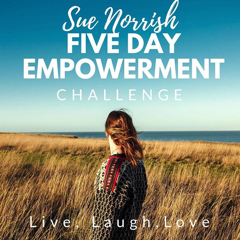 5 Day Empowerment Challenge
