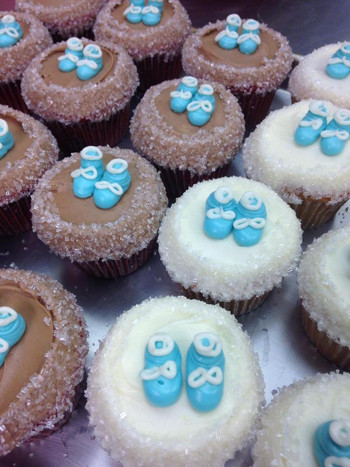 Baby P4 Cupcakes