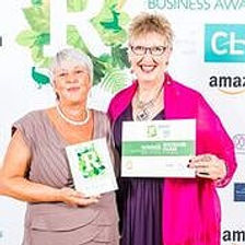 Jennie and Anita at RBA Awards ceremony