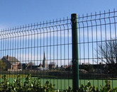 Fencing in place