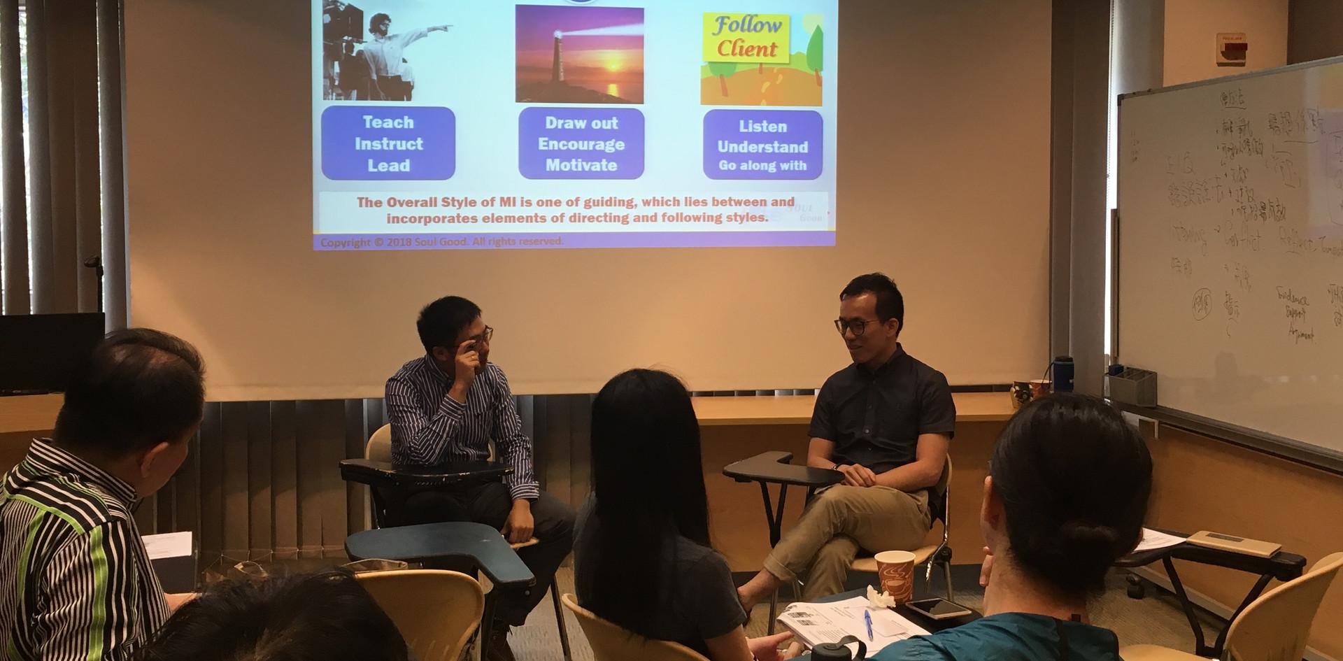 Motivation Interviewing 2-day workshop