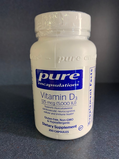 Vitamin D3 5,000 IU 250caps