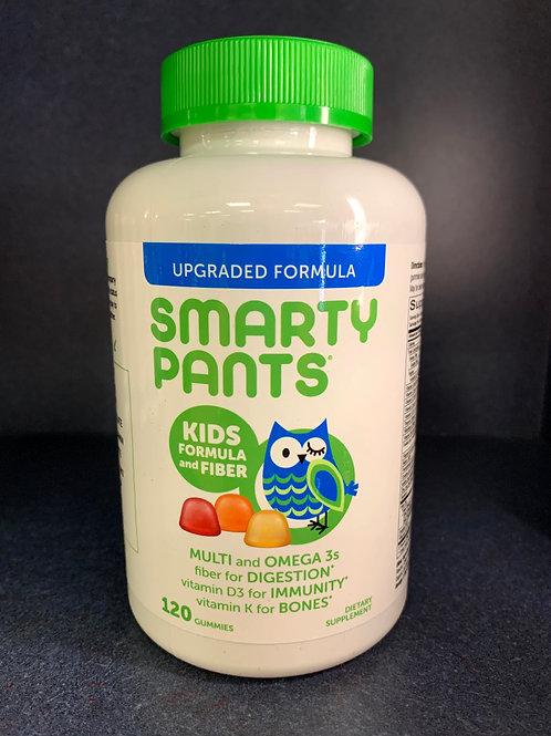 Smarty Pants Kids Complete + Fiber Gummies