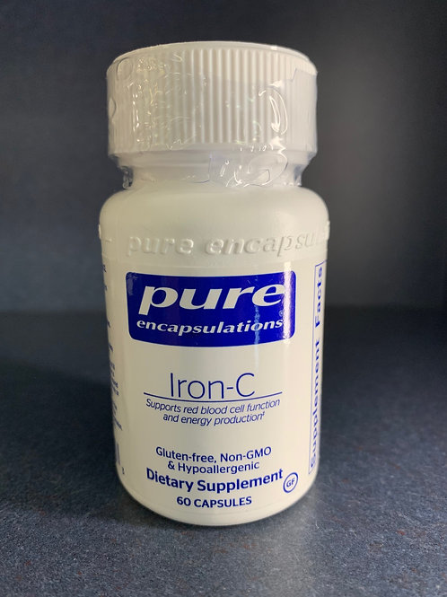 Iron-C 60ct caps Pure Encapsulations