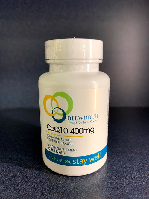 DD&WC CoQ10 400 mg 30 count