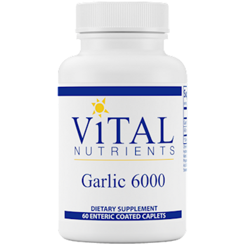 Garlic 6000 650 mg 60 cap