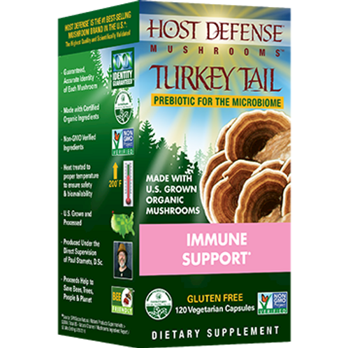 Turkey Tail Capsules 120 count