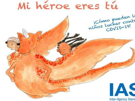 """""""El héroe eres tú"""", cuento infantil para que los más pequeños entiendan la COVID-19"""