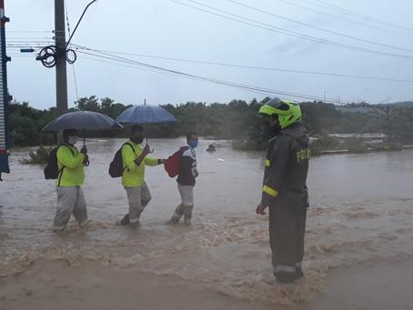 Cartagena declarada en calamidad pública por tormenta IOTA