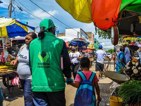 ICBF realizó jornada de concientización de trabajo infantil en Maicao