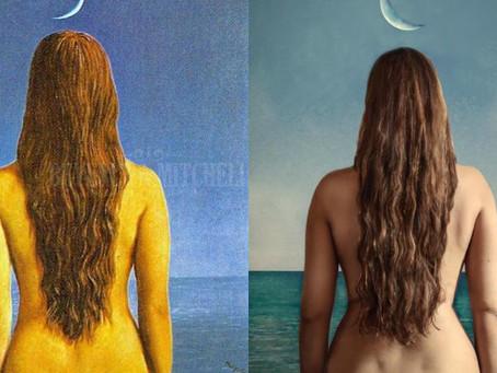 """Lily Di Marco: """"Transformar la mujer verdadera en una obra de arte viviente"""""""