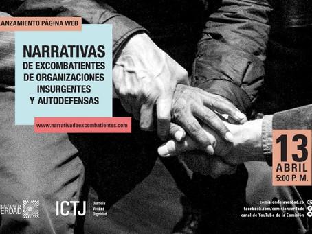 La plataforma que reúne relatos de excombatientes del conflicto en Colombia