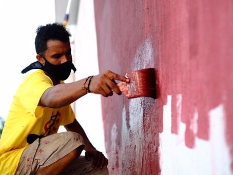 Murales del festival Killart llegan al aeropuerto y homenajearán a médicos