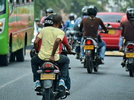 Sucre se prepara para la prohibición del parrillero en las motos