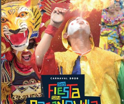 En Barranquilla se gozará el Carnaval 2020 con más de 300 eventos
