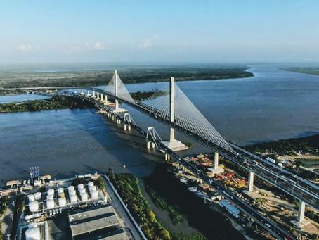 Puente Pumarejo inaugurado por Duque representa progreso para la región Caribe