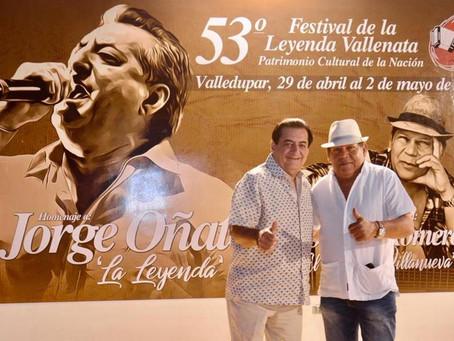 El Festival de la Leyenda Vallenata está en las manos de Dios