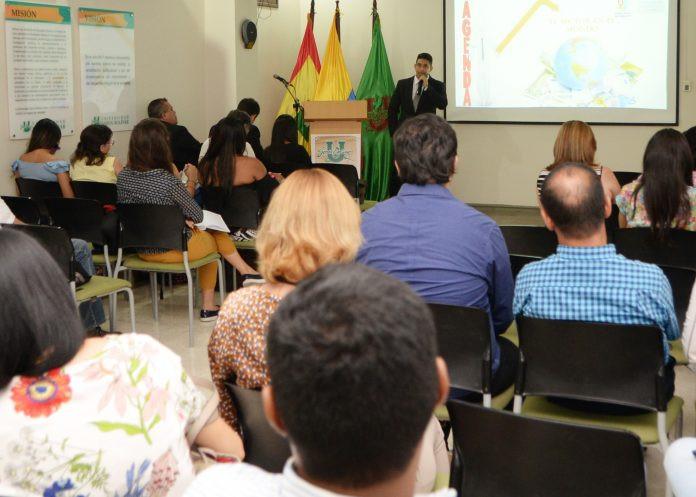 Socialización de la primera fase del proyecto. Cortesía gobernación del Atlántico.