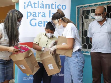 2.238 kits pedagógicos para estudiantes del Atlántico