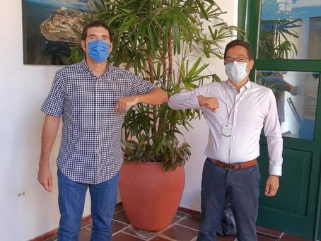 EPA y Cámara de Comercio de Cartagena se unen para recuperación del cerro de la Popa
