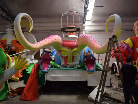 El mundo y la esencia barranquillera en las carrozas del Carnaval 2020