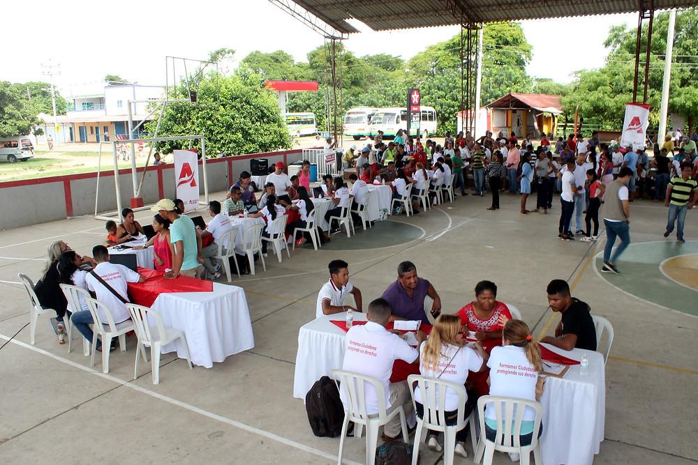 Jornada en el municipio de Manatí. (Gobernación del Atlántico).
