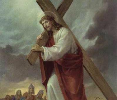 Séptima Palabra: Padre: en tus manos encomiendo mi espíritu