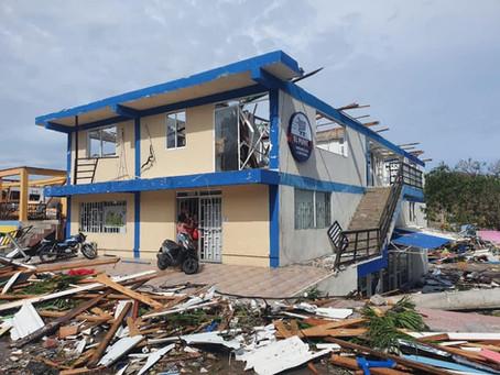 Casas, agua potable y un hospital son las prioridades para la reconstrucción de las islas