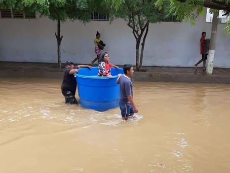 Uribia reporta 14.825 damnificados por la emergencia del huracán IOTA