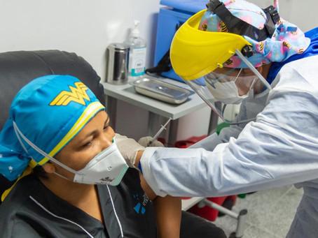 Barranquilla: 705 vacunas se espera aplicar en el 1er día