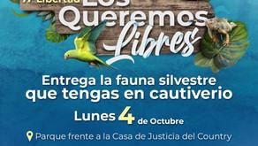 Animales en cautiverio serán recibidos por autoridades en Cartagena