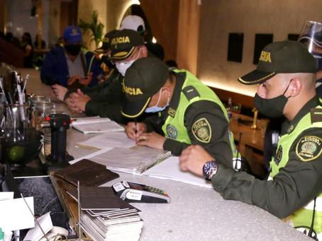 Por violar reglas de bioseguridad dos establecimientos fueron suspendidos en  Cartagena