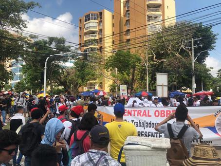 Rechazo en Barranquilla por panfleto amenazante a líderes de opinión