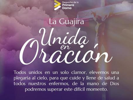 Gran jornada de Oración por enfermos de Covid-19 en La Guajira