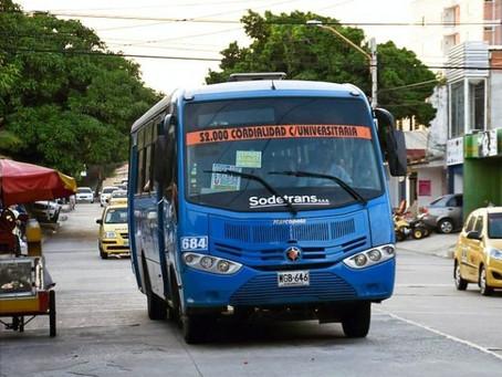 Desde el 1 de febrero aumentan en Barranquilla tarifas del transporte público