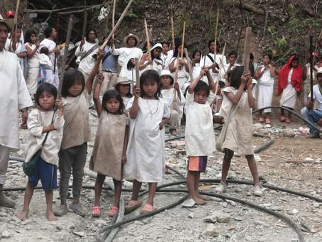 """""""Seguimos en pie de lucha"""": comunidad wiwa sobre extracción de oro en su territorio."""