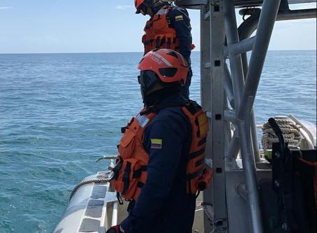 Continúa la búsqueda de 3 pescadores en la Alta Guajira