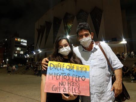 Voces de los manifestantes: Abusos policiales