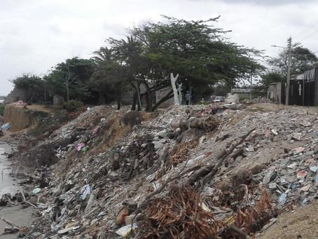 Corpoguajira anunció planes para el control de la erosión costera en Riohacha.