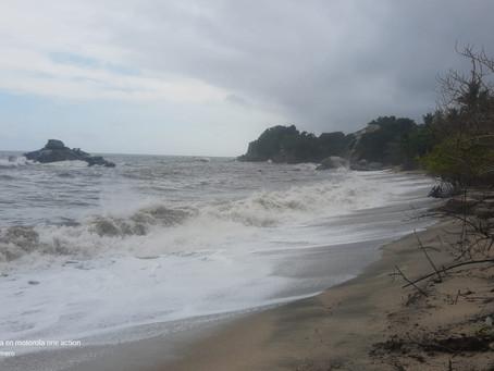 Parque Tayrona restringe 2 accesos por fuertes lluvias