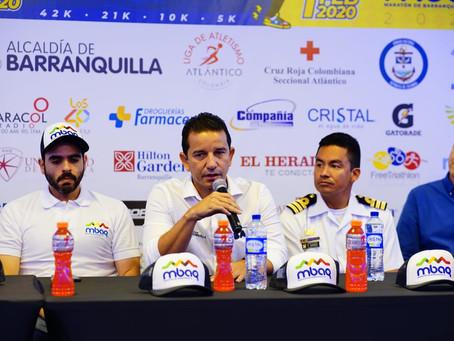 Primera Maratón de Barranquilla tendrá 8.000 corredores nacionales e internacionales