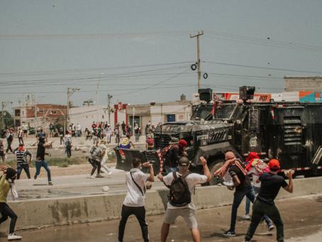 Así transcurrieron las manifestaciones masivas del 1ro de mayo en Barranquilla