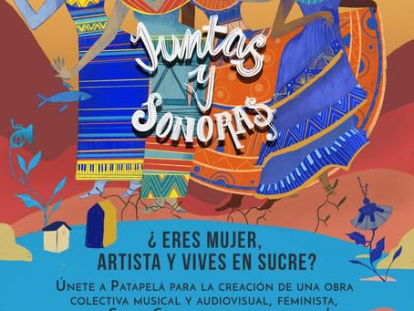 Convocatoria de feministas artistas en Sucre