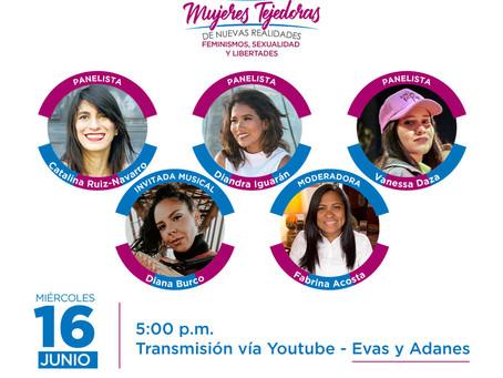"""Foro virtual  """"Mujeres Tejedoras"""" se realizará el 16 de junio"""