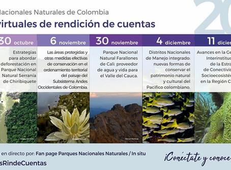 Rendición de cuentas virtual de Parques Nacionales constará de 7 foros