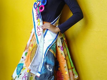 Reina de Santa Lucía promueve  rescate del juego cultural de las casetas