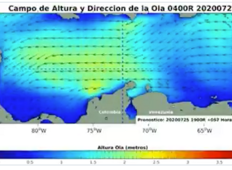 Después del paso de la onda tropical se esperan lluvias y tormentas eléctricas